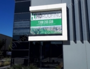 Window Graphic (One-way Vision) - HD Roofing