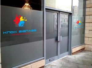 Knox Signage - Window Signage 2