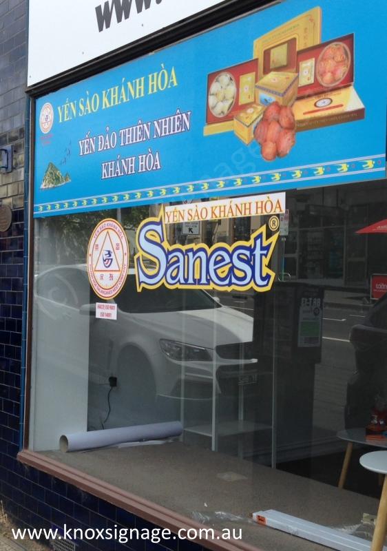 Window Signage