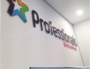 3D Acrylic Letters with Digital Print Face