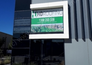 Knox Signage - HD Roofing.Window.One-way.Vision