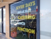 Window Graphic - Bees Knees Cafe