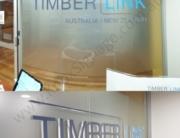 Reception Sign - Timberlink Australia