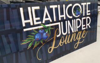 Knox Signage - Heathcote Juniper Lounge