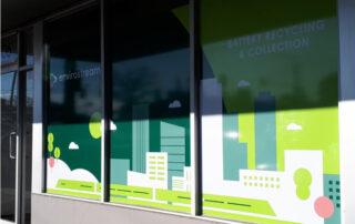 Knox Signage - Envirostream.Window.Decal